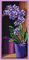 Набор для вышивки бисером Орхидея P-235