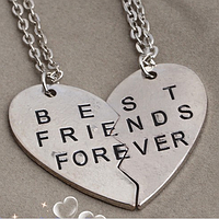 """Парные кулоны для друзей """"Best friends"""", фото 1"""