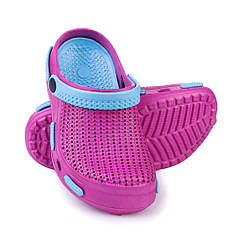 Сабо пляжные детские Spokey Fliper 32 Розово-голубые s0103, КОД: 232346