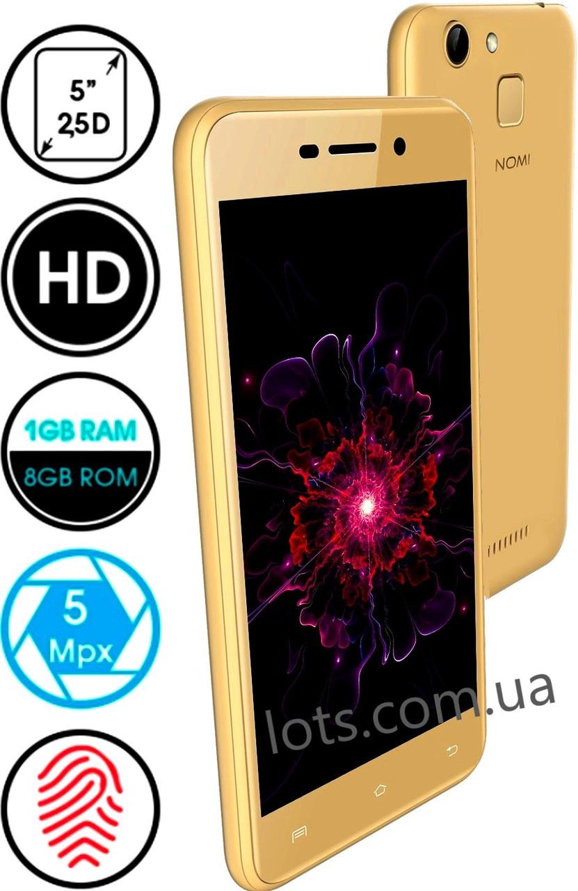 Смартфон Nomi i5012 1/8Gb Gold