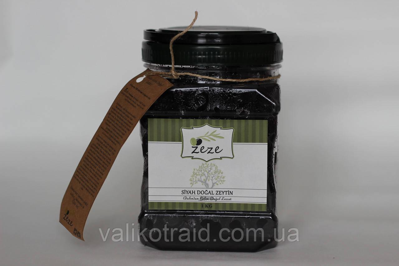 Маслини СЕРЕДНІ М базарні в'ялені оливки Zeze Туреччина 1кг/320-350шт. кошерний продукт