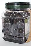 Маслини СЕРЕДНІ М базарні в'ялені оливки Zeze Туреччина 1кг/320-350шт. кошерний продукт, фото 3