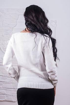 Модная кофта женская вязаная на  молнии 42-46, фото 2
