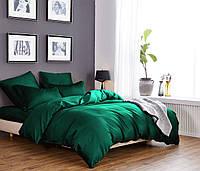 Комплект постельного белья из элитного сатина Изумруд