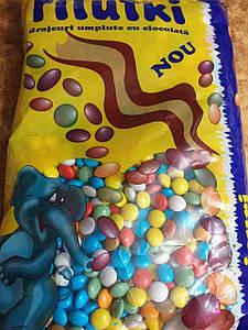 Шоколадные эмэмдемсики Filutiki весовые 1кг