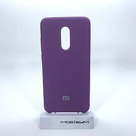 Чехол Original Soft Xiaomi Redmi 5 purple