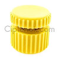 Зажим пластиковый для троса 3-4 мм