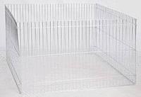 Вольер - манеж из оцинкованной стали, переносной для содержания и выгула  сельскохозяйственных животных