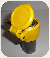 "БРС - Коннектор ""AL-Female"" (мама) жёлтый, резьба M16x1,5"