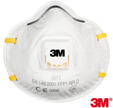 Полумаска 3M-MAS-P1-8812 , фото 2