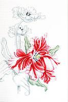 """Набор для вышивания крестиком (цветы) """"Красные тюльпаны"""""""