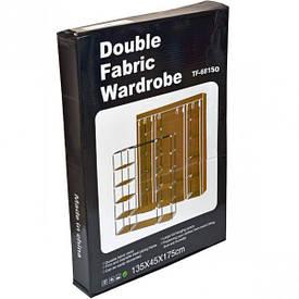 Шкаф разборной тканевый на 10 полок, 175×45×135 см            68150