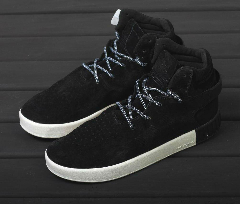 Adidas Tubular Invader Strap Black White  206559c1d