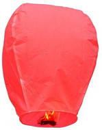 Небесний ліхтарик купол. Колір: Червоний. Розмір: 90см.