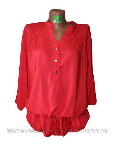 Рубашка женская батал