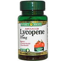 Ликопин (Lycopene), Nature's Bounty, 10 мг, 60 гелевых капсул
