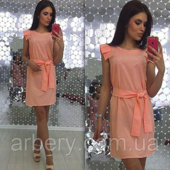 dc430ce2a46 Женское летнее платье с рюшами  продажа
