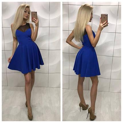 Модное короткое платье, фото 2