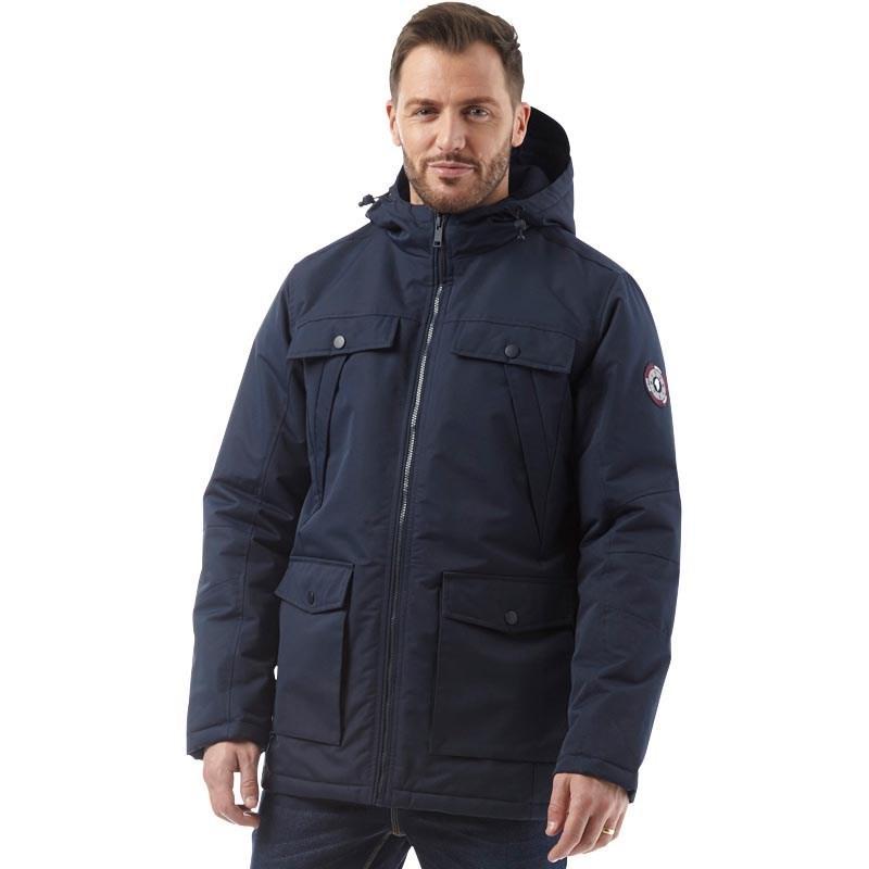 Мужская куртка парка Onfire Mens Hooded Jacket синяя оригинал