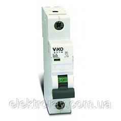 Автоматический выключатель 1P, хар.С, 63A, 4,5kA Viko