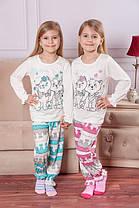 Пижама для девочки Росинка, кулир (80, 86, 122 см)