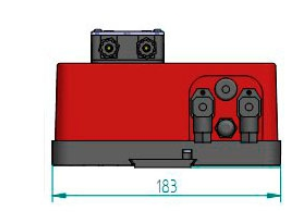 Габаритные размеры станция дозирования Microdos MP1–Rx
