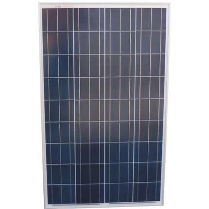 Солнечная панель 12V-100W, Солнечная батарея, банк энергии, мини электростанция, фото 2