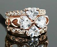 Женское кольцо Клевер, фото 1