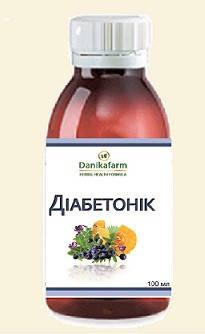 БАЖ Диабетоник (Danikafarm) 100мл., фото 2