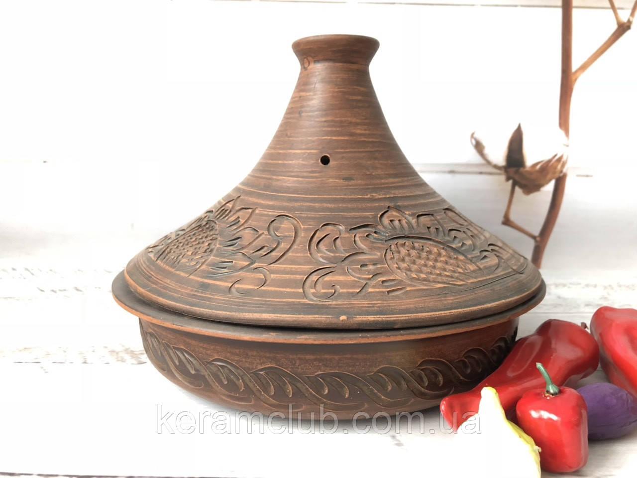 Таджин из красной глины