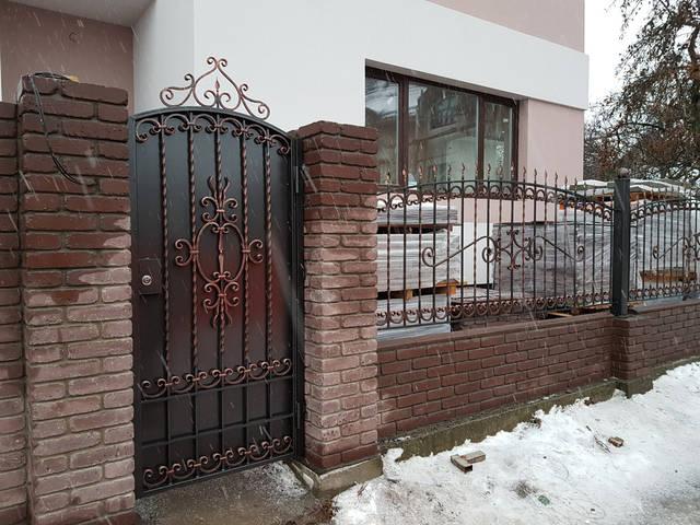 Кованый забор  -1