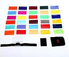 Фильтры для внешней вспышки, цветные рассеиватели Falcon Eyes CFA-30K (30 цветов)
