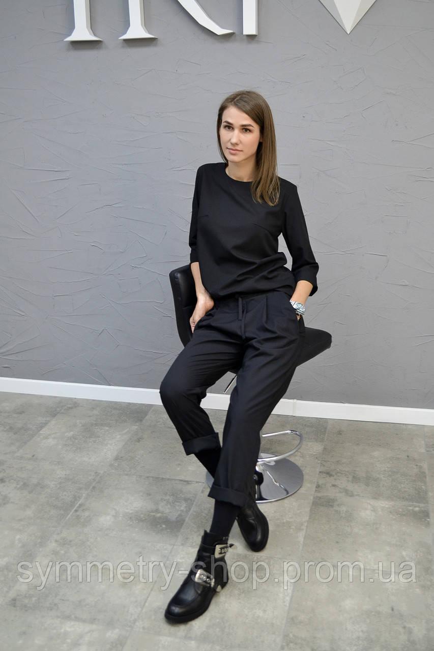 0302 Профессиональный костюм, черный, фото 1