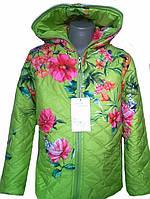 Модная куртка для девочек в расцветках