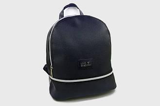 Модный женский рюкзак LOVE MOSCHINO, стильный портфель, три отдела, цвет черный