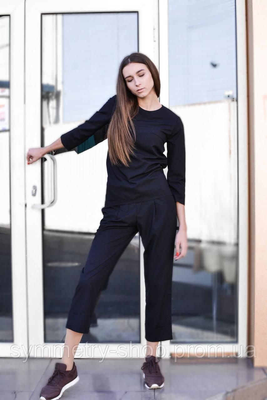 0303 Профессиональный костюм, черный, фото 1