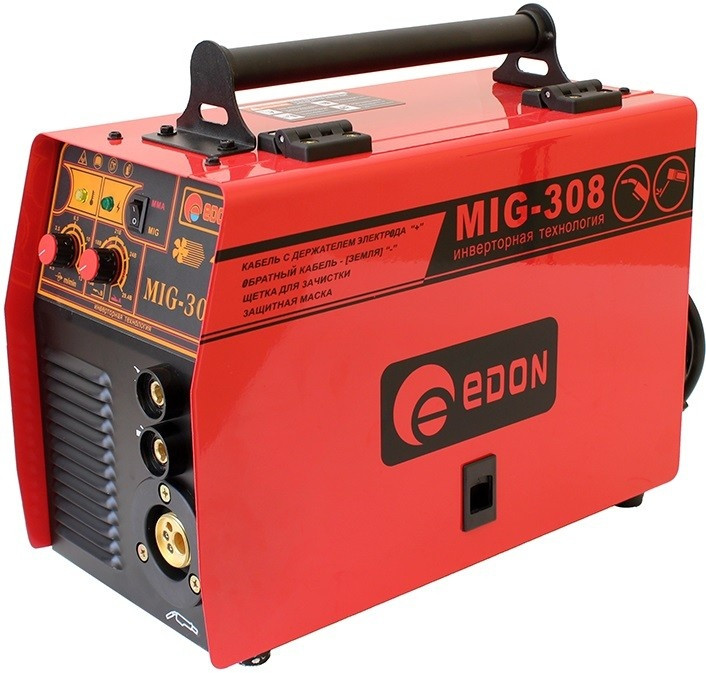 Сварочный полуавтомат Edon MIG-308 (+MMA), фото 1