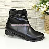 Женские ботинки (ботильоны)  кожаные демисезонные, фото 3