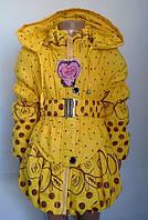 Качественная куртка для девочек на 4-7 лет в расцветках