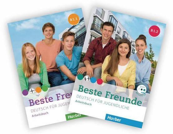 Beste Freunde B1.1 und B1.2 Arbeitsbuch Paket mit 2 CD-ROMs, фото 2