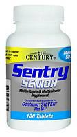Витамины для мужчин старше 50-ти лет Sentry Senior Multivitamin & Mineral Supplement Adults 50+ 100 таблеток