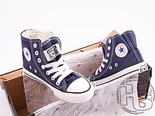 Детские кеды Converse Chuck Taylor All-Star Hi Navy M9622, фото 3
