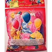 Воздушный шар 959 перламутровые  большие  (2,8г d30см) 100шт