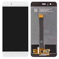 Дисплейный модуль (экран и сенсор) для Huawei P10 Plus (VKY-L09, VKY-L29), белый, оригинал