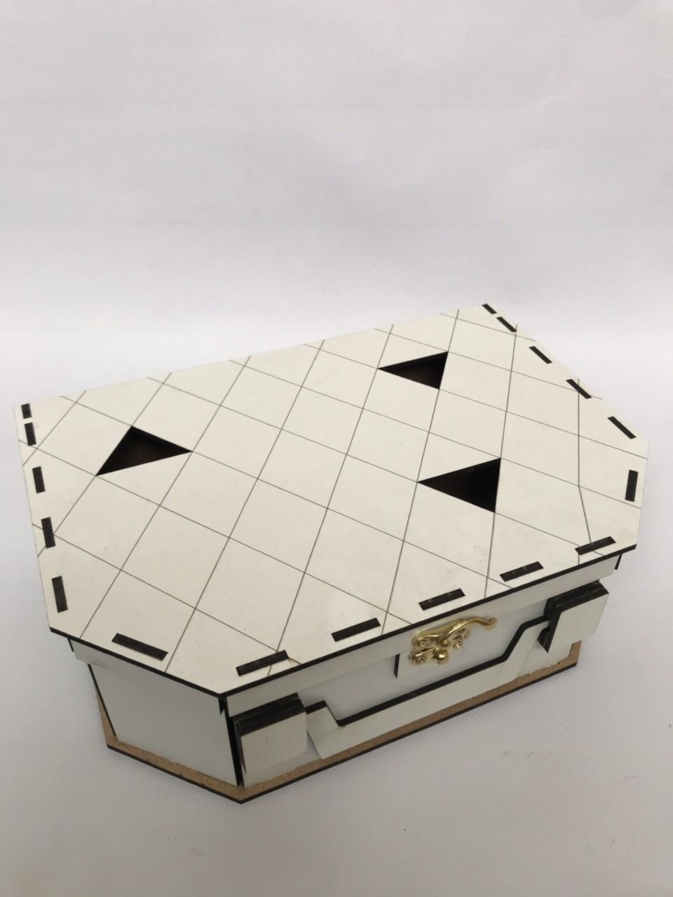 Деревянная подарочная коробка CraftBoxUA Чемодан маленький