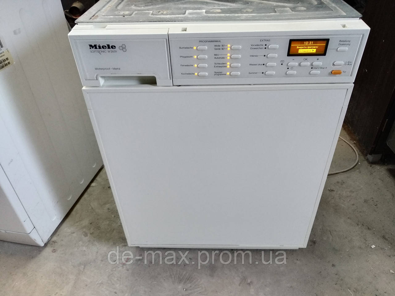 Встраиваемая стиральная машинка Miele W 2659 R WPM 1600об