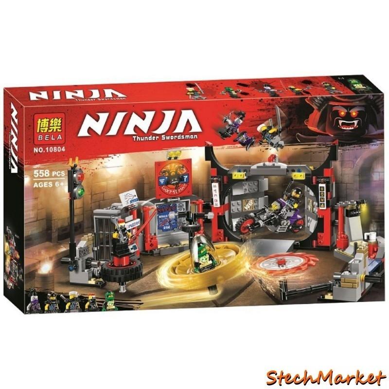 """Конструктор """"Штаб-квартира Сыновей"""" Ninja Bela 10804 558 деталей"""