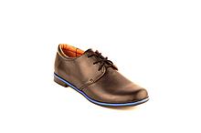 Туфли подростковые демисезонные на мальчика девочку унисекс на шнурках от производителя KARMEN 40