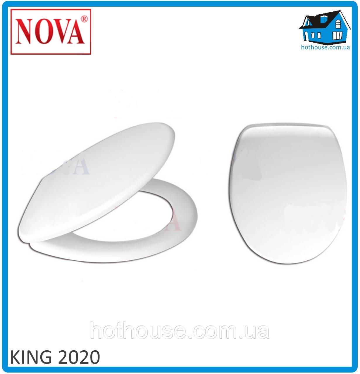 Сидение (крышка) для унитаза King 2020