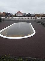 Резиновое покрытие вокруг бассейна